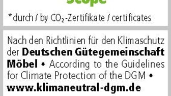DGM Label Klimaneutraler Hersteller