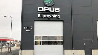 Opus nya besiktningsstation ligger på Företagarevägen 7 i Kalmar.