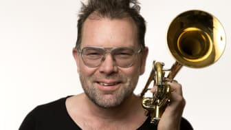 Trumpetaren Jonas Lindeborg. Foto: Jonas Jörneberg
