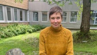 Caroline Owman, doktorand i museologi. Foto: Evelina Liliequist