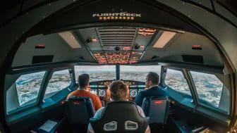 A320-Flugsimulator an der TH Wildau