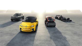 Renaulution - Dacia, Renault, Alpine, Mobilize