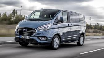 Új Ford Transit Custom PHEV - az első nulla károsanyag kibocsátású áruszállítást kínáló haszongépjármű