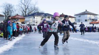 Skøyteglede i Fredrikstad