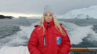 Frida Ronge MSC Grönland