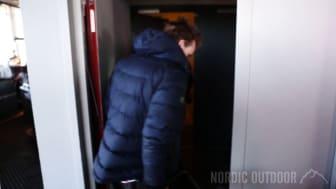 Said Belhaj inviger Nordic Outdoor genom att klättra på Gothia Towers