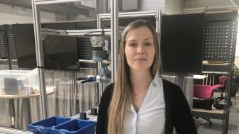 My Andersson, forskningsassistent på Högskolan i Skövde. Foto: Högskolan i Skövde