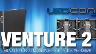 publitec erweitert Mietsortiment - Ledcon Venture 2