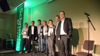 Prisutdeling: Årets grossist ble Solar Norge og Årets grossistavdeling ble Otra Norge, avdeling Bergen