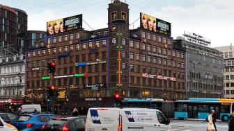 ViewNets storskærme ses bl.a. på Rådhuspladsen, København