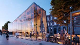 Restaurang/paviljong, Kalvhagen Norrköping