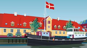 Vingetagstenen dominerer dansk arkitektur