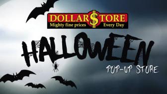 DollarStore satsar på Halloween. Ny pop-up-butik i Stockholm City.