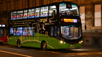 Go North East's N21 night bus service