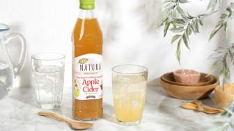 Hedelmäisen kirpeä omenasiiderietikka sopii myös kylmien juomien maustajaksi