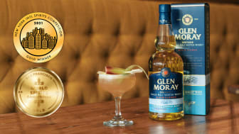 Glen Moray Peated Single Malt vinner GULD i USA!