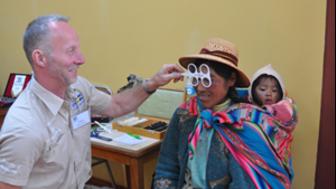 Vision For All delade ut över 2 000 par glasögon