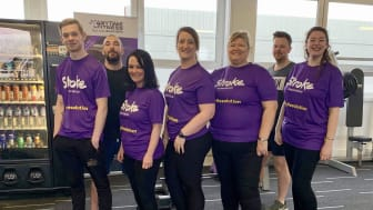 Local runners' Resolution to Run for Stroke Association