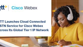 GTT lanserar Cloud Connected PSTN-tjänst för Cisco Webex