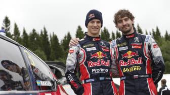 Teamförarna: Timmy Hansen och Timur Timerzyanov.