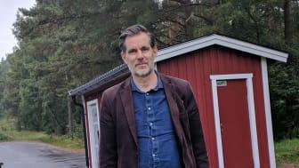 Sölvesborgs kommuns nya bibliotek- och kulturchef Anders Nylander