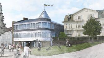 Här, på ett av Marstrands mest klassiska lägen, kommer 22 nya bostäder att växa fram.
