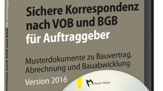 Sichere Korrespondenz nach VOB und BGB für Auftraggeber