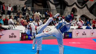 Internationella mästerskap i taekwondo på Helsingborg Arena 18-23 februari 2020. Fotograf: Anna Granat