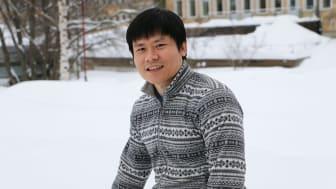 Chanh Nguyen, doktorand på Institutionen för datavetenskap vid Umeå universitet. Foto: Mikael Hansson
