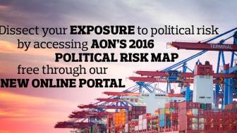 Aon Political Risk Map 2016    Ett insiktsfullt verktyg för att bedöma globala politiska risker