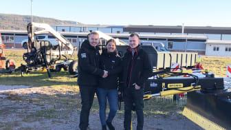 Henrik Johansson, Anna Johansson och Christian Eriksson