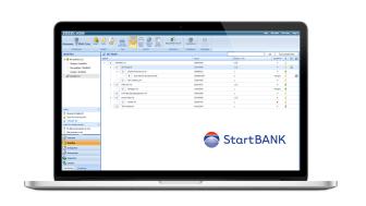 Leverandørdata fra StartBANK er automatisk synlige på arbeidsplassen i Infobric Ease.