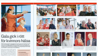 Fin artikel om Woman in Red idag!