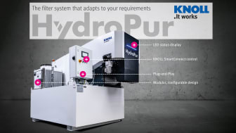 KNOLL HydroPur, skräddarsydd lösning för skärvätskerening
