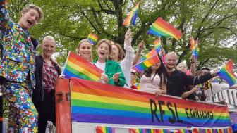 Prideparaden under Springpride