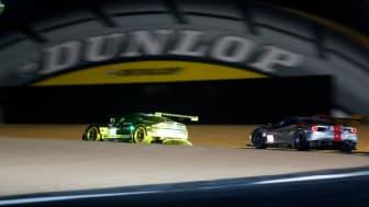 Double Dunlop Le Mans overall podium