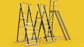 Arbetsplattformar från Wibe Ladders. HAP, TMR, WP.