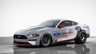För första gången någonsin presenterar Ford Performance en helt elektrisk dragracingbil – Mustang Cobra Jet 1400.