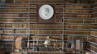 Claes de Frietzckys bibliotek på Säbylund.   Fotograf: Ulla-Carin Ekblom.