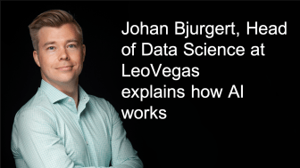 Johan Bjurgert, Head of Data Science LeoVegas