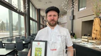 Vegard Stormo kåret til årets kjøkkensjef