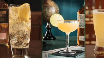 Tre enkla och goda drinkar på bara tre ingredienser