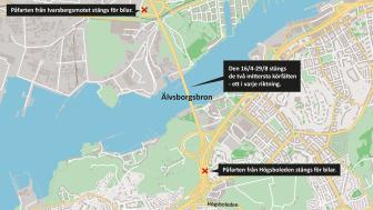 Den 16 april inleds underhållsarbeten på Älvsborgsbron.png
