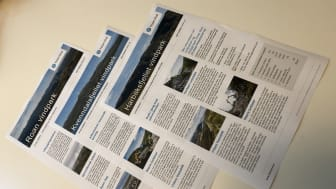 Tre nyhetsbrev på vei til naboer av Roan, Harbaksfjellet og  Kvenndalsfjellet vindparker