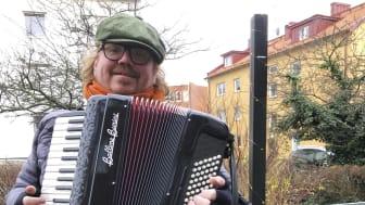 P-O Nilsson med ljudanläggningen