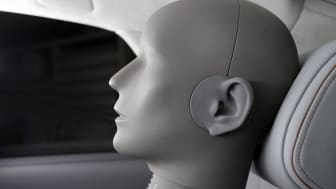 Kunstigt lydhoved til måling af lyd i bilen