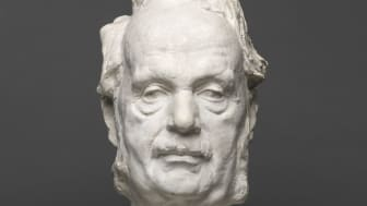 Gustav Vigeland: Sophus Bugge, 1902. Plaster. Vigeland Museum, Oslo