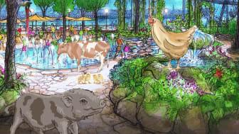 Gröna Lund blir djurpark under 2021