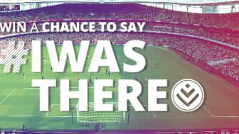 Win a chance to say #Iwasthere