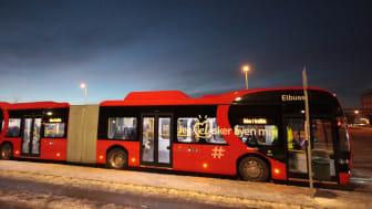 Presseinvitasjon: Storsatsingen på elbuss i Oslo